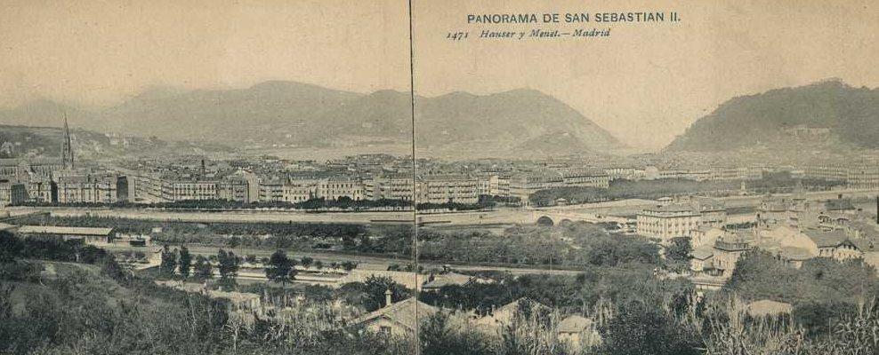 San Sebastián : vista panorámica