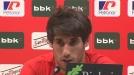 Vídeo de Javi Martínez hablando sobre la final de Copa
