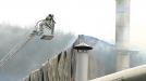 Vídeo Incendio en la empresa de celulosa Cemosa en Atxondo