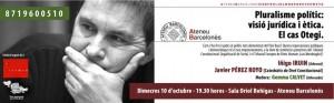 [Cas Arnaldo Otegi] 10 d'octubre: Iruin i Pérez Royo debatran a Barcelona