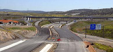 El tramo entre El Batán y Coria se abrirá con un kilómetro sin acabar