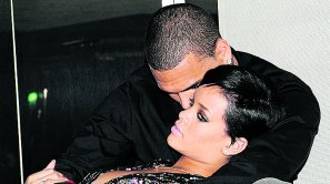 Chris Brown y Rihanna.