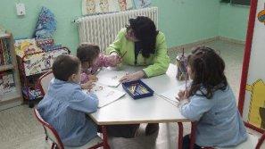 Una imagen del año pasado de la escuela infantil de Errekaleor. Ya no volverá a repetirse.