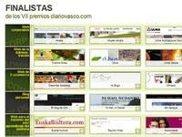EuskalKultura.com, finalista en los premios Diario Vasco a la mejor web del año en relación al euskera