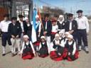 El centro Lagunen Etxea de Laprida portó la ikurriña en los festejos por el 123º aniversario de la ciudad