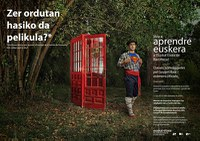 Barcelona's Euskal Etxea creates an original campaign to announce their Basque language classes