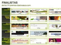 EuskalKultura.com is a finalist for Diario Vasco´s best webpage of the year related to euskara