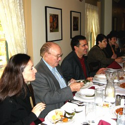 grant presentation dinner