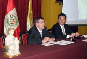 Un momento de las jornadas en el Instituto Riva Agüero.