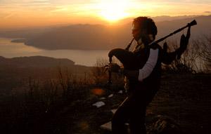 Wilber Calver reside en Suiza donde encontró músicos y amigos con los que comenzó a trabajar en 'Diáspora'.