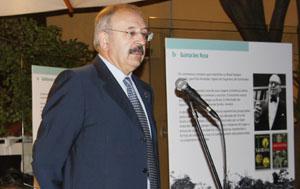 Ramón Villares, en un momento de la inauguración.