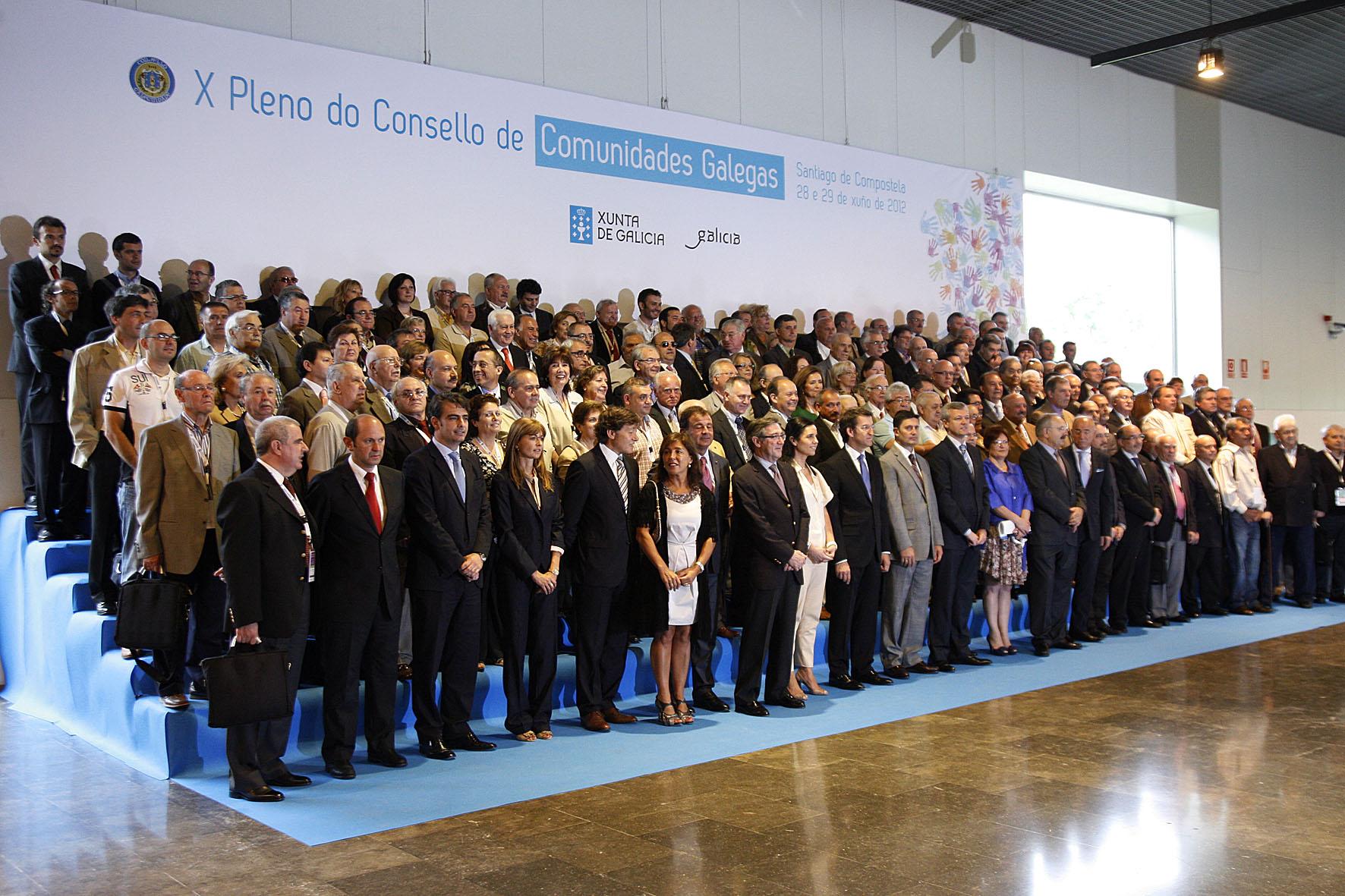 X Pleno do Consello de Comunidades Galegas