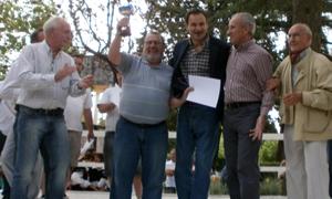De izda. a dcha.: José Luis Rodríguez Reboredo, José González, Pablo Bruera, Juan Carlos Ozón y Emiliano Isla Verde.