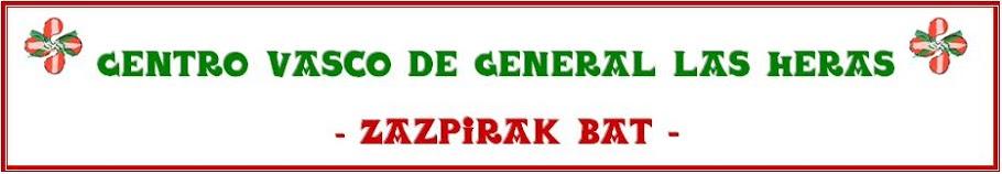 Centro Basko de General Las Heras - Zazpirak Bat