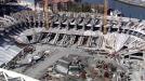 Vídeo: Obras del Nuevo San Mamés Barria desde el aire, en helicóptero