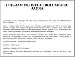 Luis Javier Oregi Bolunburu