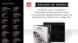 Colección de libros CD DE OPERA por tanto solo 6,95 euros cada DVD.
