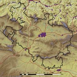 Lurraldearen mapa
