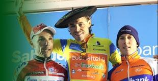 Podium Vuelta al Pais Vasco