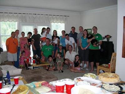 Euskal festa eta famili bilkura Washington DCko Euskal Etxea sortzeko hastapenetan