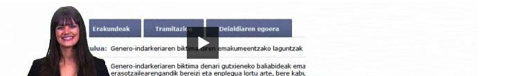 Eusko Jaurlaritzako laguntzak eta bekei buruzko bideoak