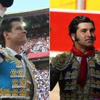 El Juli y Morante (d) estarán presentes una vez más en la Feria del Toro.
