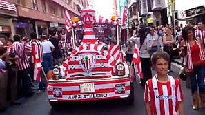 Flashmob Athletic. Planeta Bilbao
