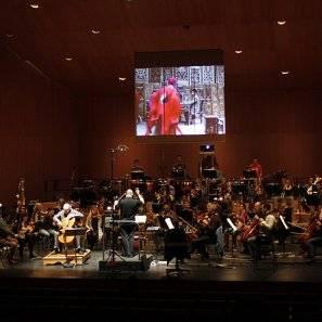 Actuación de la Orquesta Sinfónica de Navarra.