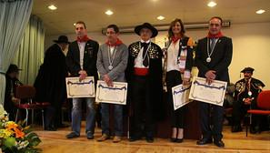 Álex Múgica, José María Aizega, Enrique Sánchez, Mariló Montero y José Javier Esparza.