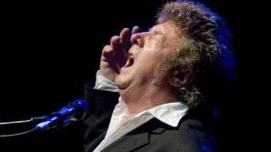 El cantaor Enrique Morente, durante una actuación.