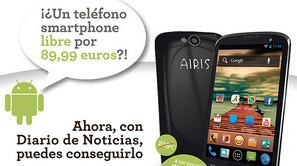 Smartphone libre.
