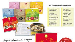 Promoción libros de cocina.