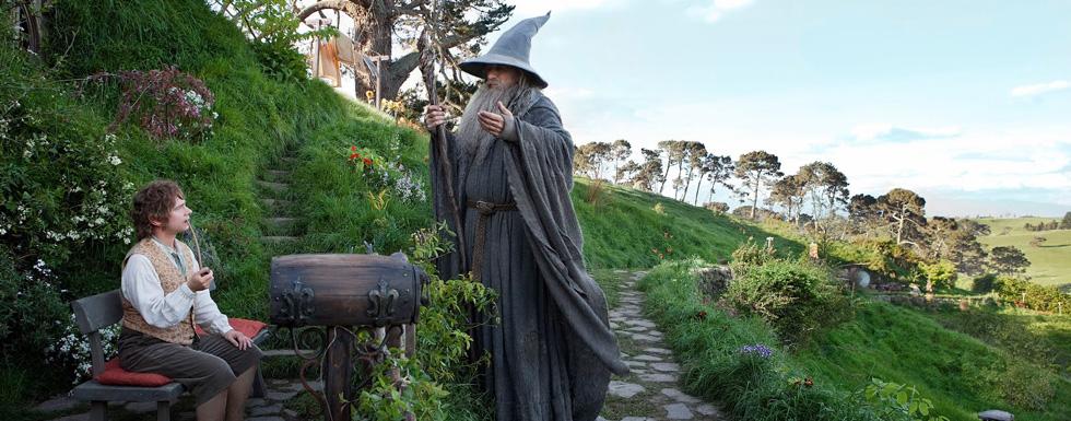 Primer cartel de «El Hobbit: La desolación de Smaug»