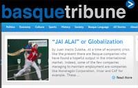 Llega a la red la revista digital Basque Tribune; un nuevo medio de comunicación vasco, escrito en inglés