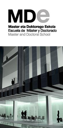 MDe Escuela de Máster y Doctorado