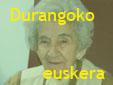 Durangoko euskera