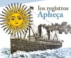 Los registros de Guillaume Apheça, agente de emigración