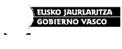 Eusko Jaurlaritza - Kultura saila Logo