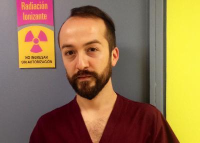 Christian Etxeberria, medical technician and Basque language student/teacher in Santiago, Chile