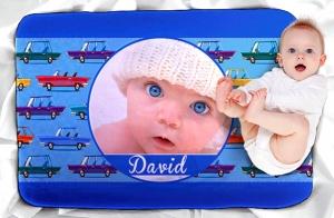 Manta personalizada para bebé