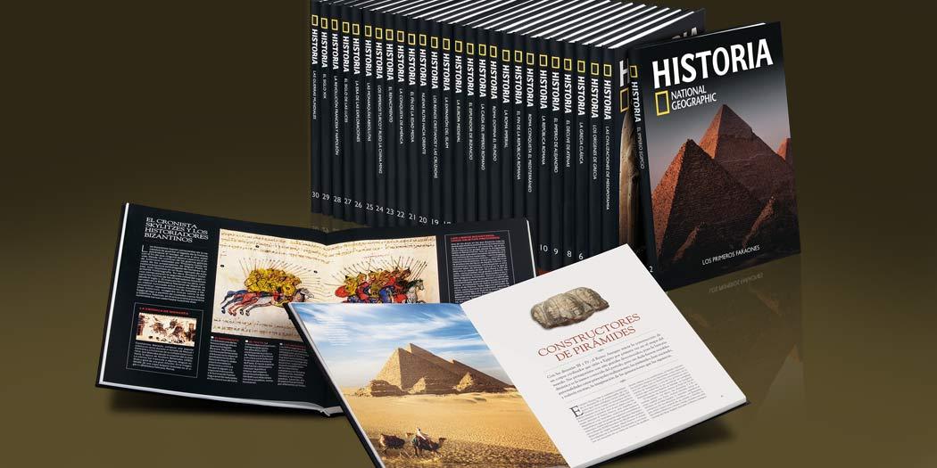 Libros Historia National Geographic