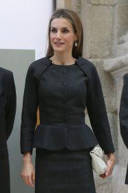 Vestido negro de Letizia
