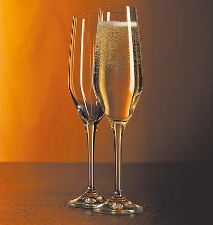 Juego de 2 copas de champagne
