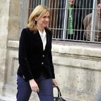 Imagen de archivo de la infanta Cristina llegando a los juzgados de Palma
