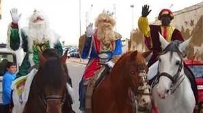 Los Reyes Magos en Galdakao.