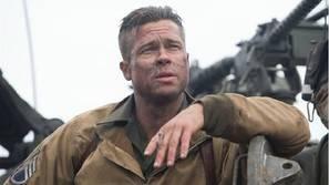 Brad Pitt, en 'Corazones de acero'.