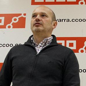 Raúl Villar, secretario general de CCOO en Navarra