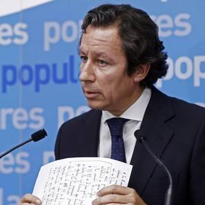 El vicesecretario de Organización y Electoral del PP, Carlos Floriano, en una imagen de archivo.