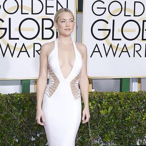 Glamour sobre la alfombra roja de los Globos de Oro.