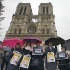 Francia se paraliza en un minuto de silencio